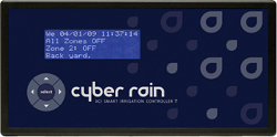 Cyber-Rain Irrigation Controller